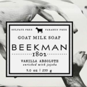 Beekman 1802 Vanilla Absolute Goat Milk Bar Soap